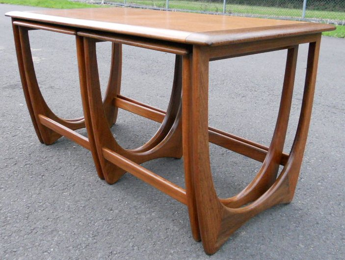 Teak Retro Nest Of Coffee Tables By G Plan